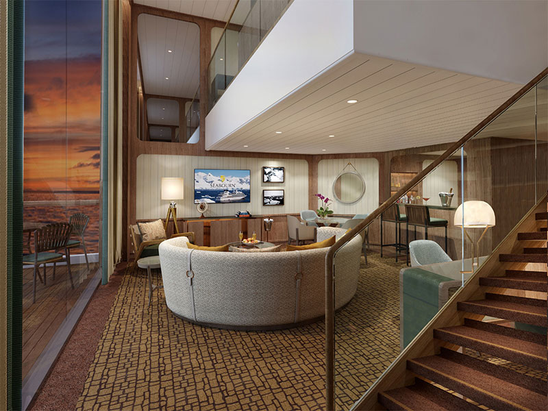 Seabourn Unveils Accommodations on Seabourn Venture and Sibling Ship