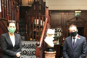 Welcome Back: Malcolm Hendry, GM of Rubens at the Palace and Hotel 41