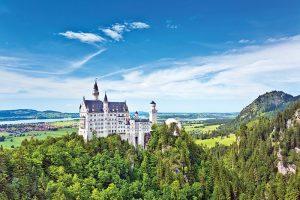 Three Castles: Eltz, Rheinfels, and Neuschwanstein