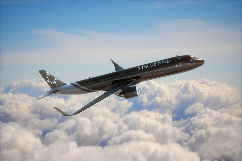 TCS World Travel Shares Dates for First Luxury Expeditions on Airbus A321neo